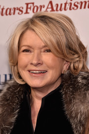 Martha Stewart rocked a tousled bob at the Comedy Central Night of Too Many Stars.