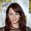 Melinda Clarke's Side Parted Bangs