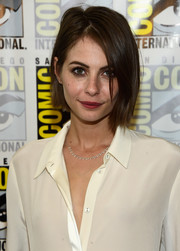 Willa Holland wore her hair in an edgy bob during Comic-Con International 2016.