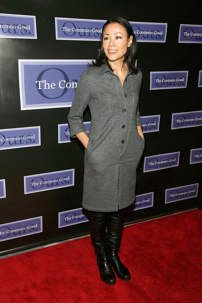 More Pics of Ann Curry Flat Boots (1 of 8) - Ann Curry Lookbook - StyleBistro