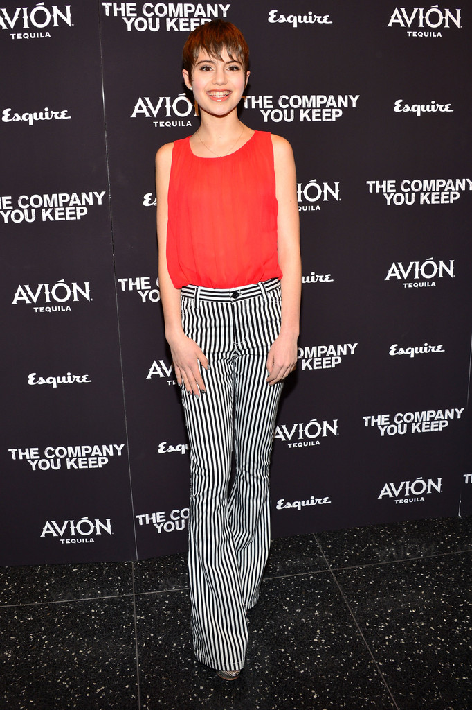 "Actress Sami Gayle attends ""The Company You Keep"" New York Premiere at The Museum of Modern Art on April 1, 2013 in New York City."