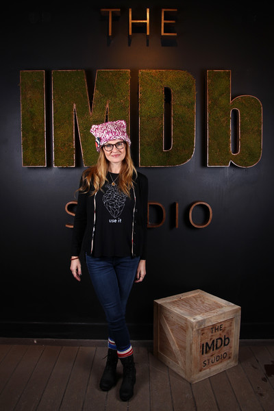 Connie Britton Skinny Jeans [font,photography,headgear,connie britton,park city,filmmaker discovery lounge,utah,imdb studio,the imdb studio,sundance film festival featuring the filmmaker discovery lounge,amazon video direct: day two]