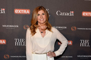 Connie Britton Leather Clutch