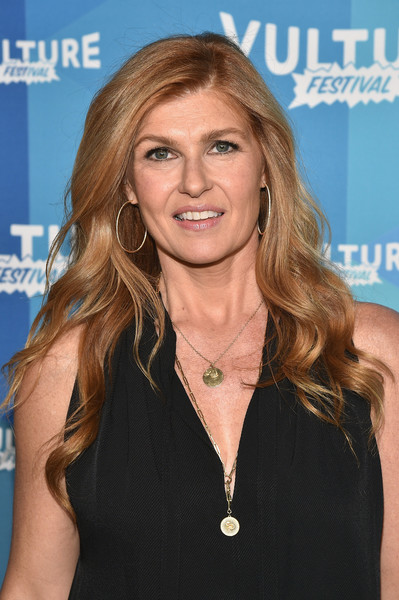 Connie Britton Long Wavy Cut [hair,blond,hairstyle,long hair,brown hair,layered hair,smile,television presenter,feathered hair,premiere,connie britton,yall,new york city,milk studios,vulture festival,2017 vulture festival]