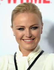 Malin Akerman kept it simple with this bun at the 'Billions' FYC screening.