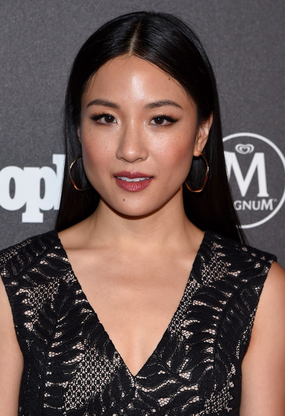 Constance Wu Gold Hoops