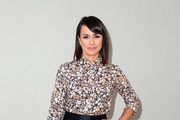 Constance Zimmer Print Blouse