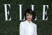 Constance Zimmer Pussybow Blouse