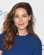 Michelle Monaghan looked gorgeous with her tousled waves at the Context Summits pre-Emmy charity event.