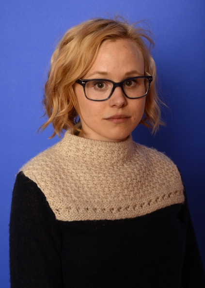Alison Pill sported casual short waves at the 2014 Sundance Film Festival.