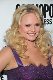 Miranda Lambert attended the 'Cosmopolitan' Fun Fearless Men and Women of 2012 event wearing her hair in big bouncy curls.