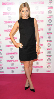 Mollie King kept it super simple in this retro LBD by Dolce & Gabbana at the Cosmopolitan Ultimate Women of the Year Awards.