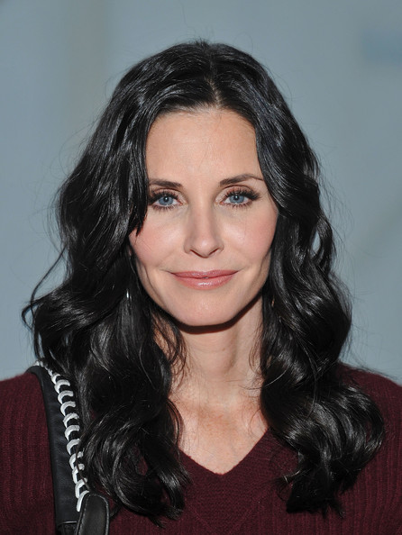 Actress Courteney Cox attends the NewbarK fall 2012 presentation during ...