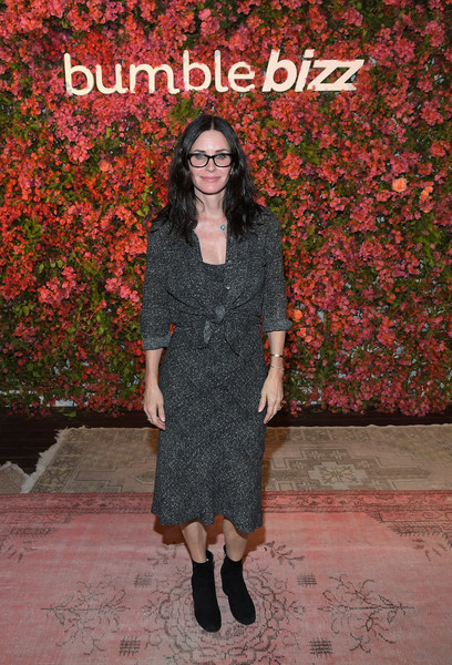 Courteney Cox Arquette Skirt Suit