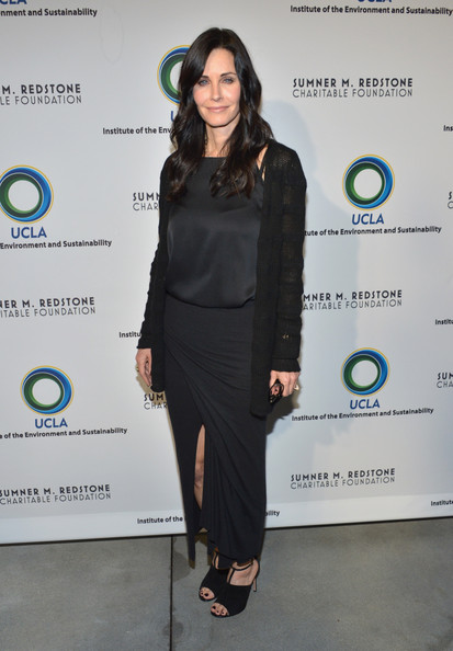 Courteney Cox Loose Blouse