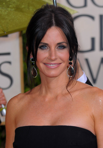 Courteney Cox French Twist