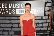 Crystal Reed Strapless Dress