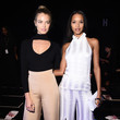 Hailey Clauson and Lais Ribeiro  at Cushnie Et Ochs