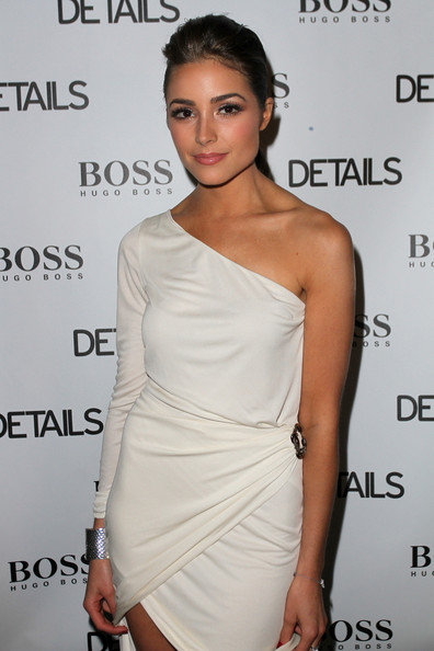 More Pics of Olivia Culpo One Shoulder Dress (1 of 5) - Olivia Culpo Lookbook - StyleBistro