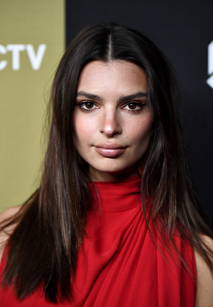 More Pics of Emily Ratajkowski Skinny Pants (1 of 4) - Emily Ratajkowski Lookbook - StyleBistro [super,arrivals,emily ratajkowski,hair,face,eyebrow,hairstyle,lip,beauty,long hair,brown hair,chin,fashion model,atlantic station,atlanta,georgia,directv]