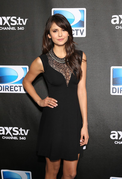 More Pics of Nina Dobrev Little Black Dress (3 of 3) - Nina Dobrev Lookbook - StyleBistro