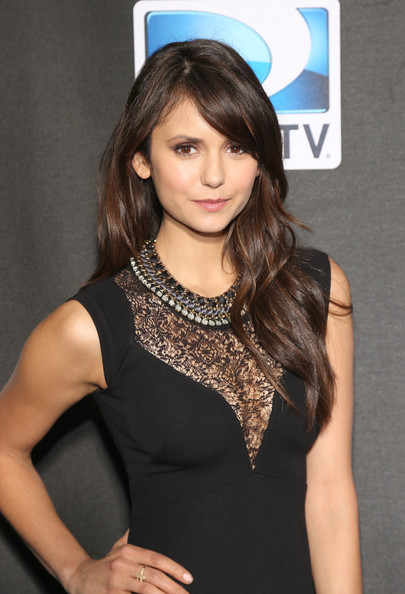 More Pics of Nina Dobrev Little Black Dress (2 of 3) - Nina Dobrev Lookbook - StyleBistro