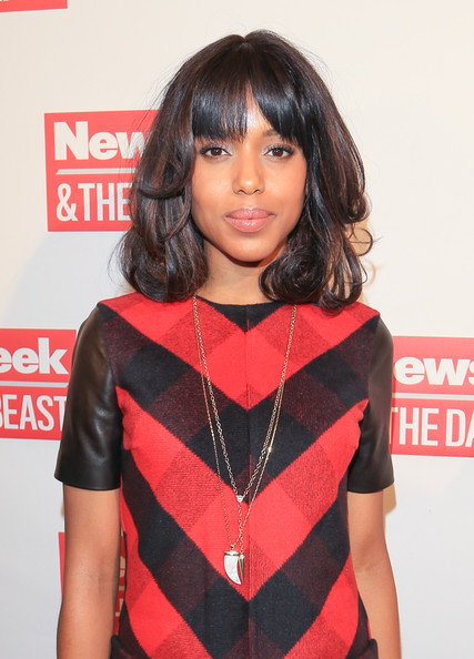 More Pics of Kerry Washington Day Dress (1 of 7) - Kerry Washington Lookbook - StyleBistro
