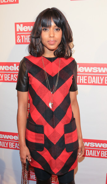 More Pics of Kerry Washington Day Dress (2 of 7) - Kerry Washington Lookbook - StyleBistro