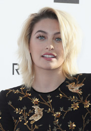 Paris Jackson attended the Fashion Los Angeles Awards wearing her hair in a stylish shag.