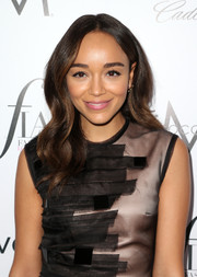 Ashley Madekwe showed off a sweet wavy hairstyle at the Fashion Los Angeles Awards.