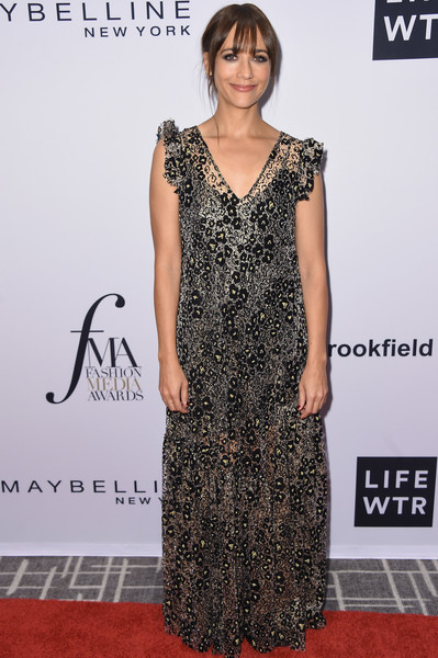Rashida Jones at Daily Front Row's Fashion Media Awards