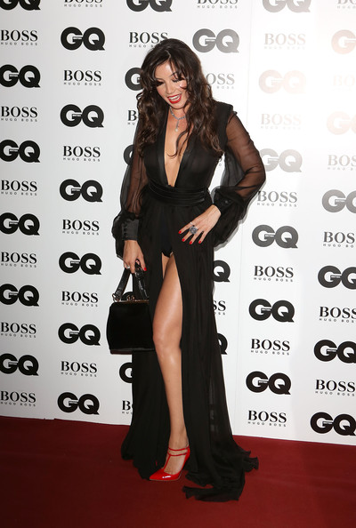 Daisy Lowe Pumps [clothing,red carpet,dress,carpet,shoulder,premiere,fashion,little black dress,flooring,long hair,red carpet arrivals,daisy lowe,gq men of the year awards,awards,england,london,the royal opera house,gq men of the year]