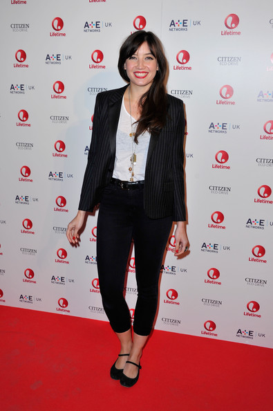 Daisy Lowe Capri Jeans [clothing,red,fashion,red carpet,flooring,carpet,footwear,outerwear,premiere,event,red carpet arrivals,daisy lowe,london,england,one marylebone,lifetime,launch party,launch]