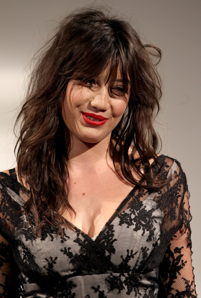 Daisy Lowe Red Lipstick [hair,hairstyle,lip,beauty,chin,fashion,black hair,smile,brown hair,long hair,daisy lowe,vintage,part,lives,soundtrack of our,england,chichester,goodwood festival,fashion show]