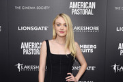 Dakota Fanning Corset Dress