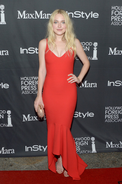 Dakota Fanning Mermaid Gown