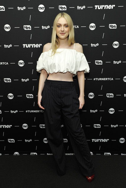 Dakota Fanning Crop Top