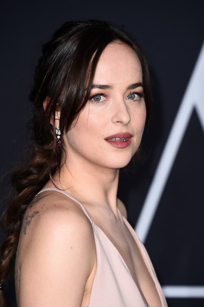 Dakota Johnson Long Braided Hairstyle