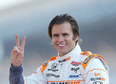 Dan Wheldon Gold Chronograph Watch