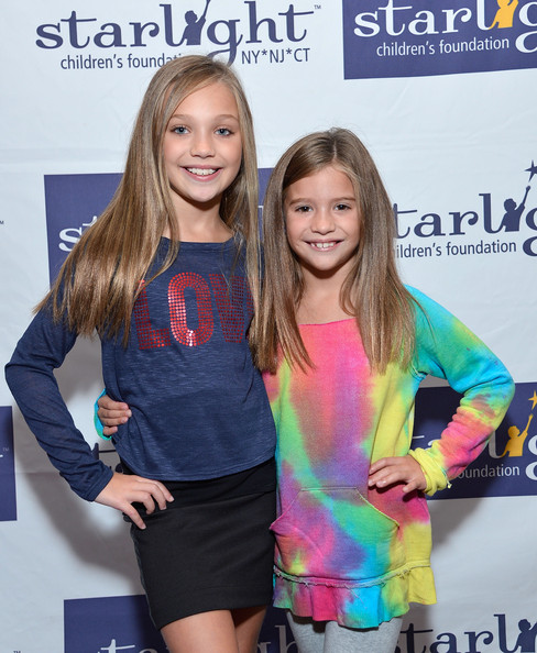 More Pics of Maddie Ziegler T-Shirt (1 of 14) - Maddie Ziegler Lookbook - StyleBistro [dance moms fan meet and greet benefiting starlight childrens foundation,dance moms,youth,yellow,fashion,premiere,event,long hair,talent show,carpet,hair coloring,dress,television personalities,mackenzie ziegler,maddie ziegler,new york city,stoopher boots,l,starlight childrens foundation,meet]