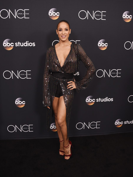 Dania Ramirez Sheer Dress