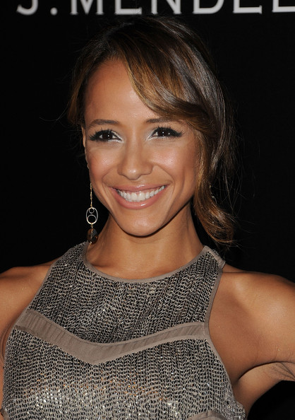 Dania Ramirez Metallic Eyeshadow