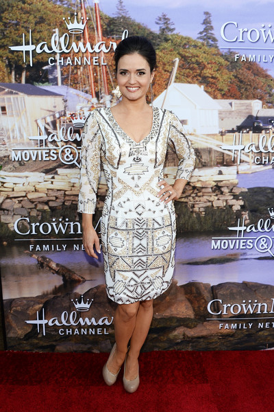 Danica McKellar Beaded Dress