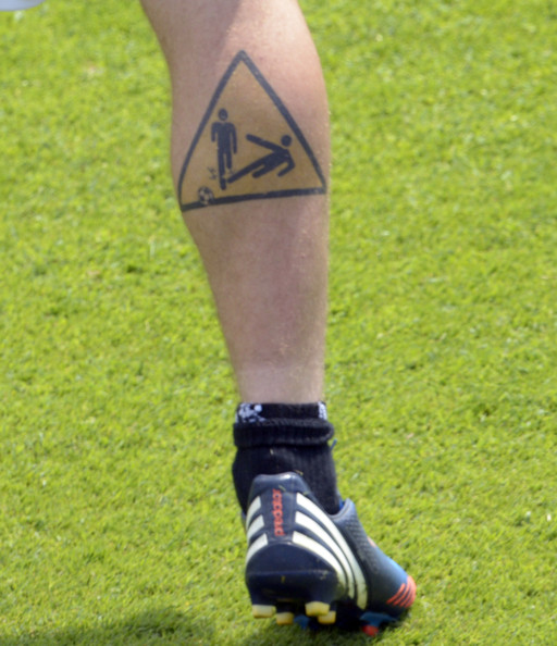 Daniele De Rossi Body Art