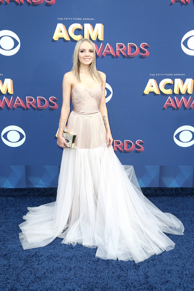 Danielle Bradbery Strapless Dress