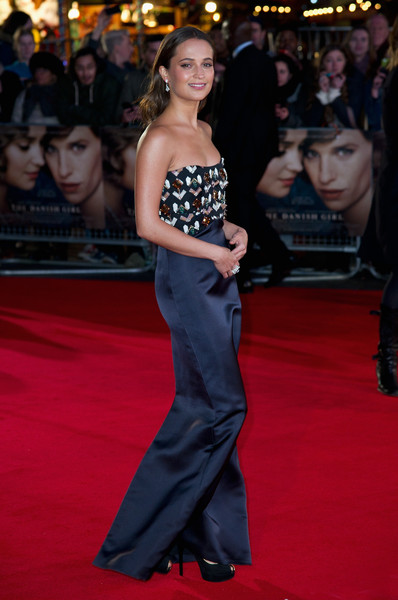 Alicia Vikander At 'The Danish Girl' Premiere, 2015