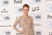 Darby Stanchfield Beaded Dress