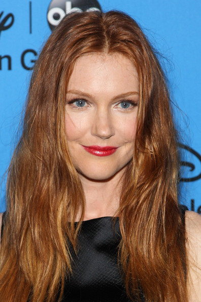 Darby Stanchfield Long Wavy Cut