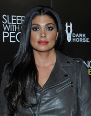 Rachel Roy looked lovely wearing her long hair swept to the side during the premiere of 'Sleeping with Other People.'