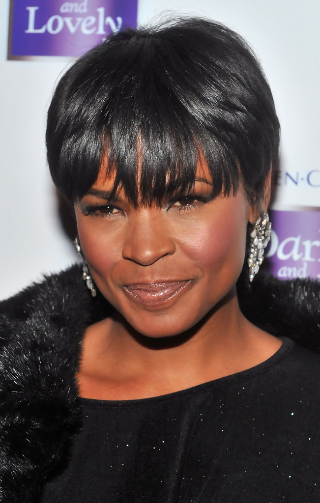 Nia Long Celebrity Black Hair Styles Pictures Stylebistro